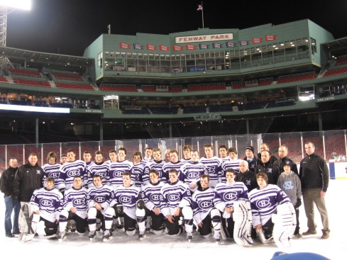 Last year's team at Fenway!