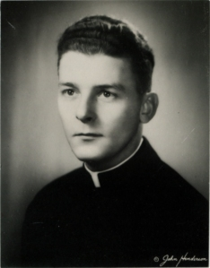 PORTRAIT YOUNG PRIEST
